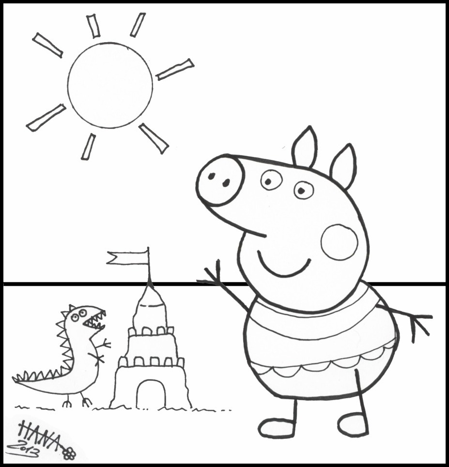 Disegni da colorare may no enogu for Peppa pig coloring pages